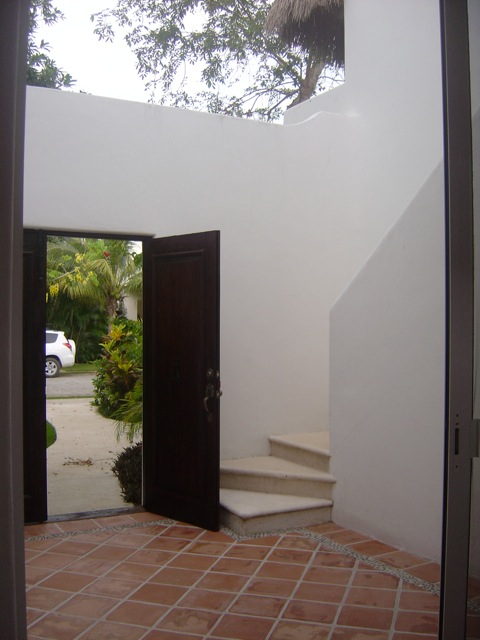 Exterior private staircase allow for various possibilities for use: potential guest house or office