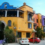 one of the most photographed buildings in Playa del Carmen