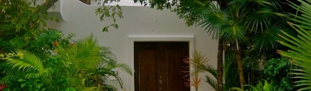 Casa Nico's entrance to a private courtyard